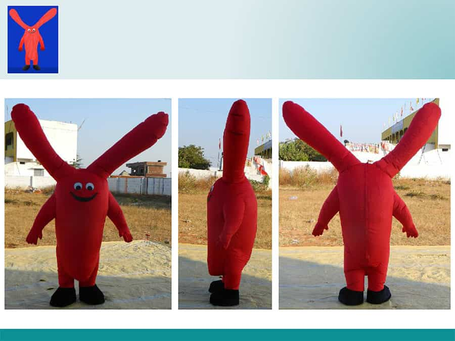 RED-INFLATABLE