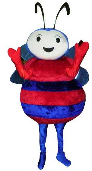 Bee-mascot-front