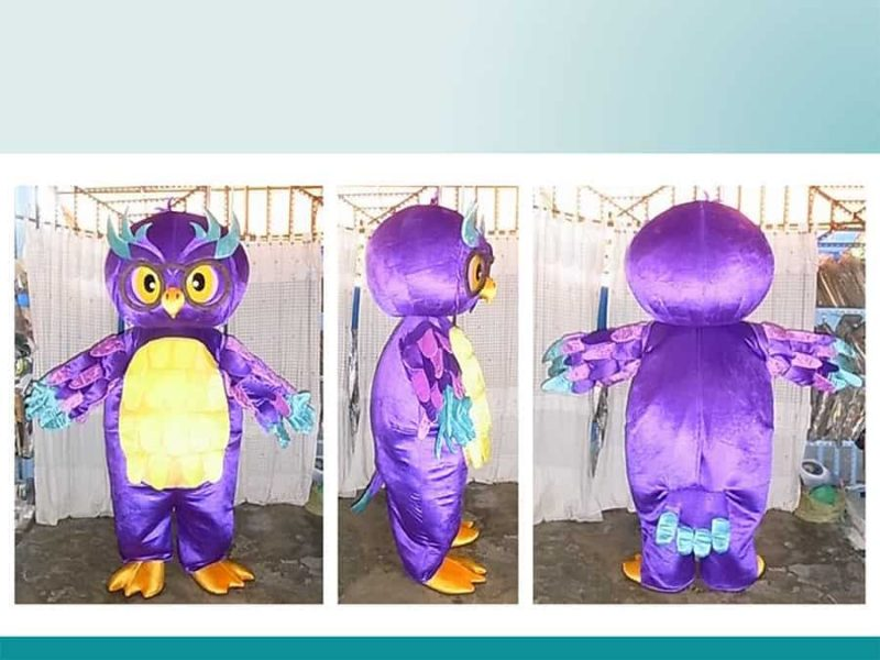 PURPLE-OWL