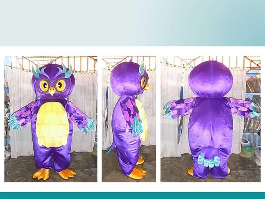 PURPLE-OWL